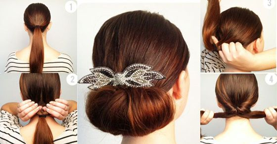 Diy Quick And Easy Hairstyles Indian Party Hairstyles