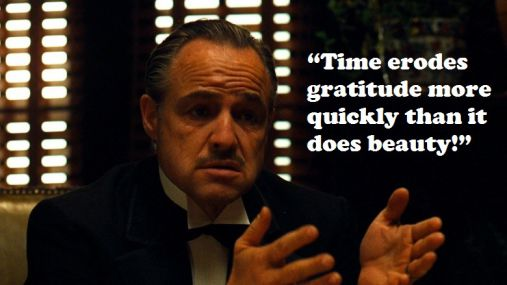 Friendship Quotes Godfather : Best quotes from the movie godfather that will keep you awake