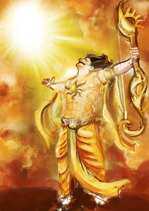 Story of the Previous Birth of Karna - 4