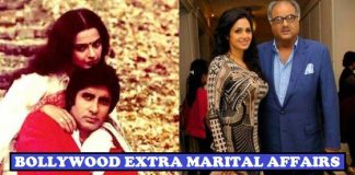 Extra Marital Affairs of Bollywood Celebrities
