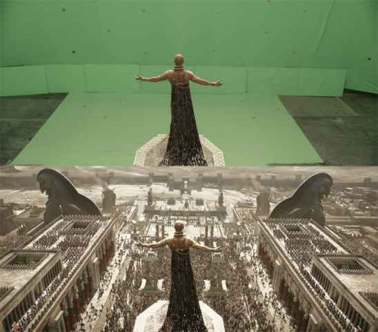 Before And After VFX