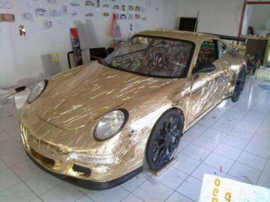This Guy Made A Porsche Car At Home And Its Awesome