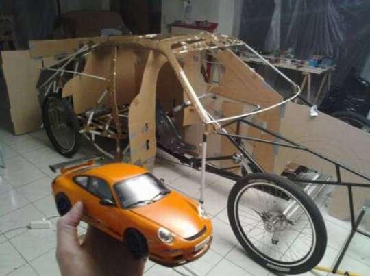Homemade Porsche Car - 4