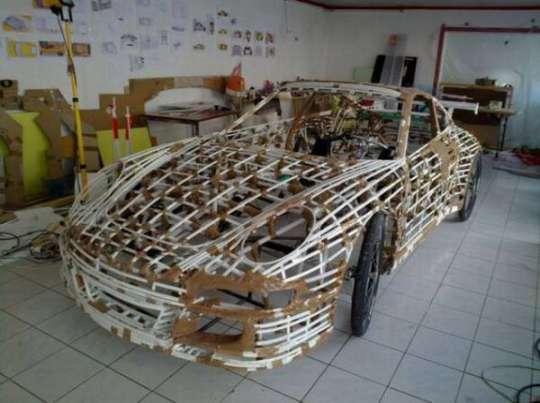 Homemade Porsche Car - 6