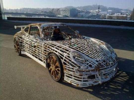 Homemade Porsche Car - 8