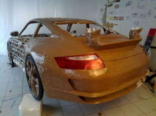 Homemade Porsche Car - 9