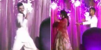 Virat Kohli Dancing & Singing