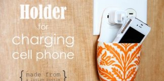 Holder For Charging Mobile Phone