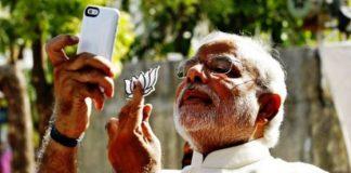 Modi and Camera