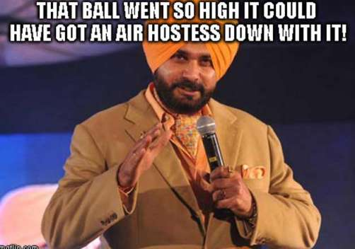 Sidhu's Most Amusing Commentary Lines - 6
