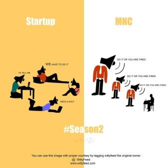 Difference Between MNC And Startup - 12