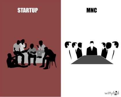 Difference Between MNC And Startup - 2