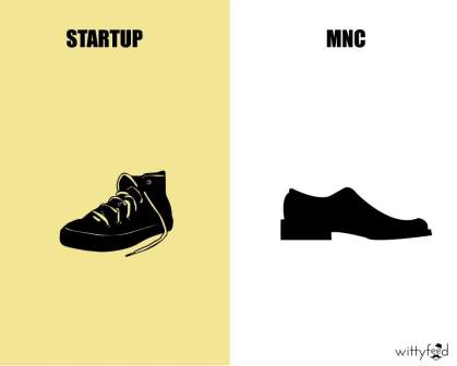 Difference Between MNC And Startup - 3