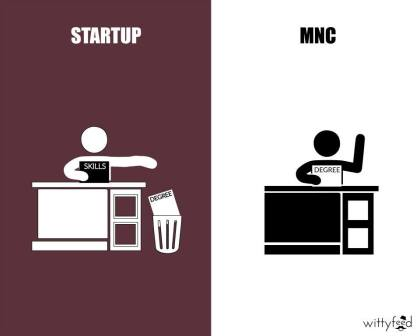 Difference Between MNC And Startup - 4