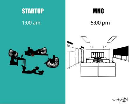 Difference Between MNC And Startup - 6