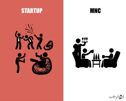 Difference Between MNC And Startup - 7