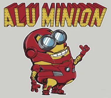 Superhero Minions alu_minion