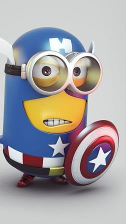 Superhero Minions captain_minion