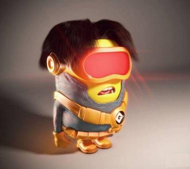 Superhero Minions cyclops_minion