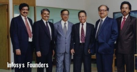 infosys-founders