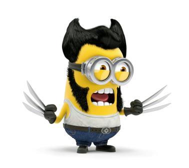 Superhero Minions minion_wolverine