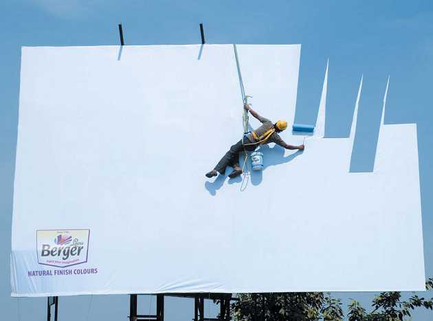 Creative Advertising - Berger India