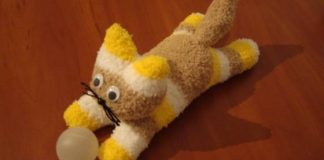 DIY Sock Kitten - 1