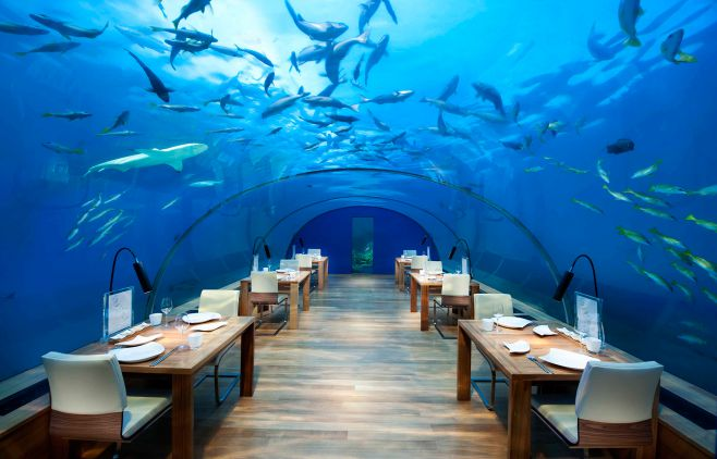 First Underwater Restaurant Ithaa