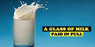 Beautiful Story - A Glass of Milk