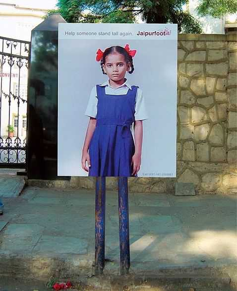 Creative Advertising - Tall again by Jaipur foot