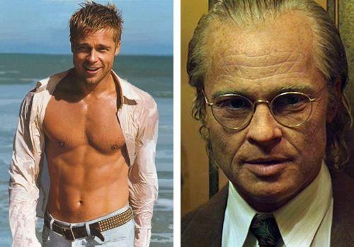 Celebrity Transformations Brad Pitt