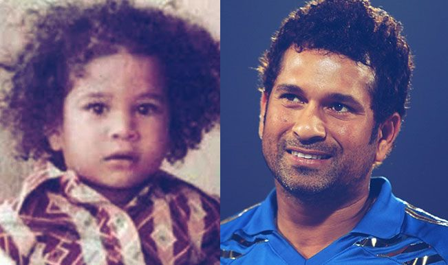 Cricketers-Childhood-Photos-Sachin-Tendulkar