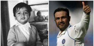 Cricketers Childhood Photos Sehwag