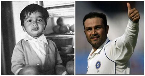 Cricketers-Childhood-Photos-Sehwag