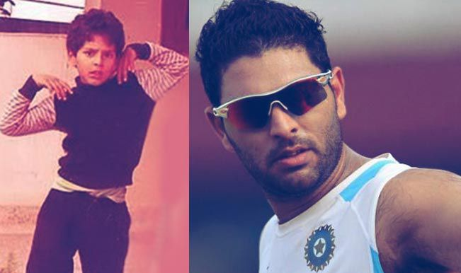Cricketers-Childhood-Photos-Yuvraj