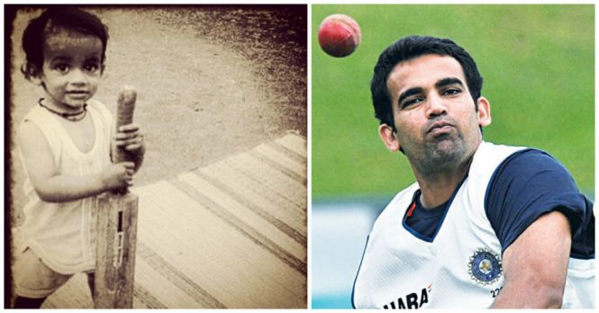 Cricketers-Childhood-Photos-Zaheer-Khan