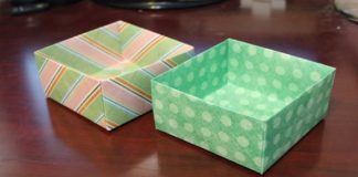 How To Make An Origami Box - 1