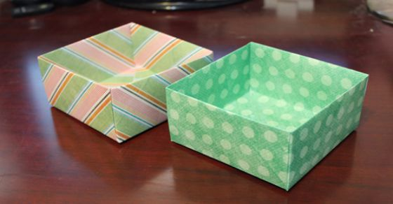 Diy Tutorial How To Make An Origami Boxeasy Video Tutorial