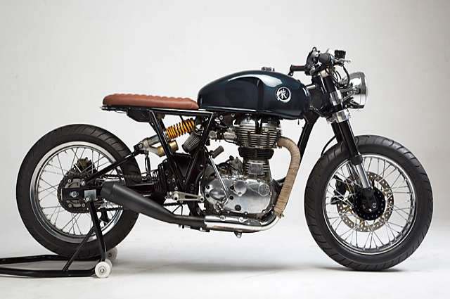 Modified Royal Enfields- 'Loopy' Royal Enfield Continental – KR Customs1