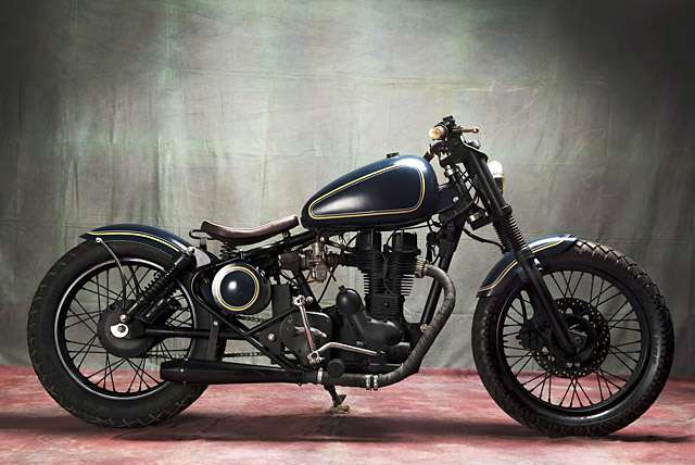 Modified-Royal-Enfields-03-Royal-Enfield-Electra-–-Bull-City-Customs