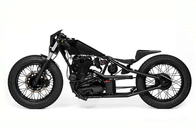 Modified Royal Enfields- Royal Enfield 350 'Nevermore'