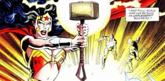 Wonder Woman Thor's Mjolnir (2)