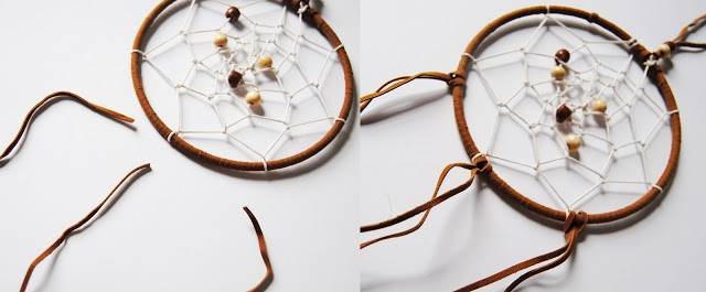 simple dream catcher instructions