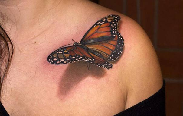 Amazing Best 3D Tattoos (2)