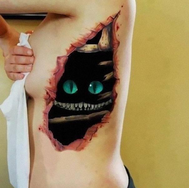 Amazing Best 3D Tattoos (5)