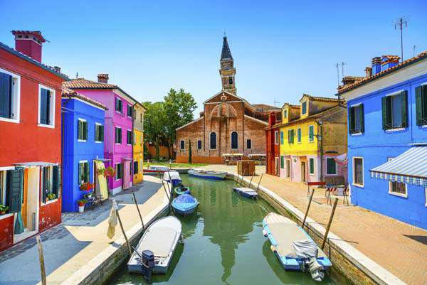 Amazing Most Beautiful Places In The World Burano Italy