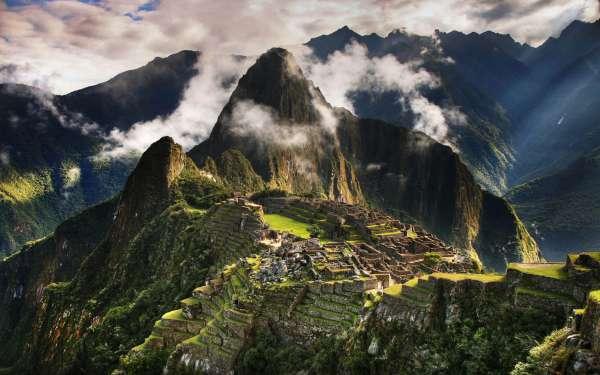 Amazing Most Beautiful Places In The World Machu Picchu in Peru