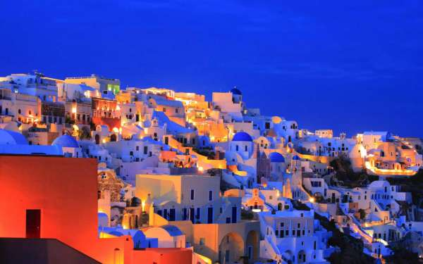 Amazing Most Beautiful Places In The World Santorini Island Greece
