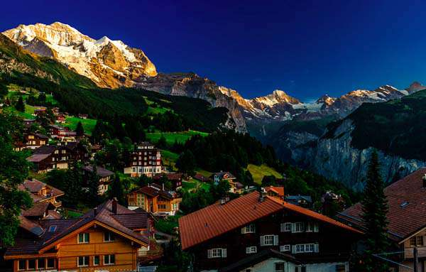 Amazing-Most-Beautiful-Places-In-The-World-Wengen-Switzerland