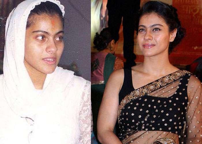 Bollywood Actress Without Makeup Kajol